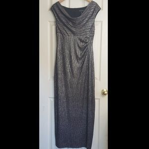 Connected Apparel Formal Long Draped Dress  12
